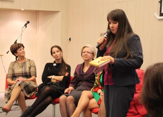 Kobieta z pasja potrafi Xlecia-EUK SP Torun konferencja